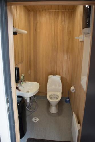Nykyaikaiset WC-tilat.